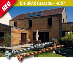 Die SPAX Fassade - 4CUT