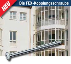 Die FEX-Kopplungsschraube