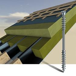 SPAX-Iso: Die Dämmstoffschraube für Dach und Fassade