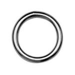 Ring geschweißt und poliert