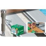Terrassenschraube für Aluminiumprofile