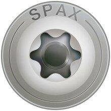 SPAX Tellerkopf 8 mm T-STAR plus 4CUT Vollgewinde...