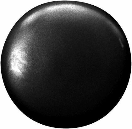Kunststoff-Abdeckkappen, passend für SPAX-RA Flachsenkkopf, schwarz, 500 Stück