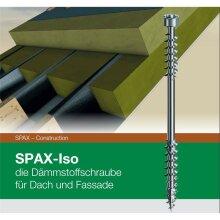 SPAX-Iso Dämmstoffschraube für Dach und Fassade...