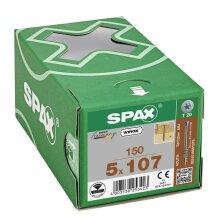 SPAX Tellerkopf-Schraube mit optimiertem Teilgewinde 5 x 107 - 150 Stk