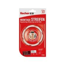fischer MONTAGE STREIFEN - 19 Strips auf Rolle