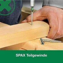 SPAX Heimwerker Set - 4200 tlg Senkkopf  Teilgewinde T-STAR Plus