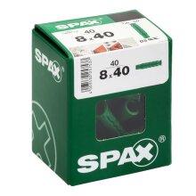 SPAX Dübel Typ-SD 8,0 x 40 mm 40 Stück