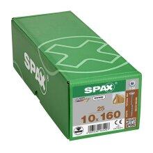 SPAX Tellerkopf T-STAR plus T50 WIROX 10x160 - 25 Stk