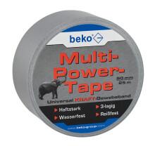 Multi-Power-Tape  50 mm x 25 m, SILBER