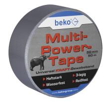 Multi-Power-Tape  50 mm x 50 m, SILBER