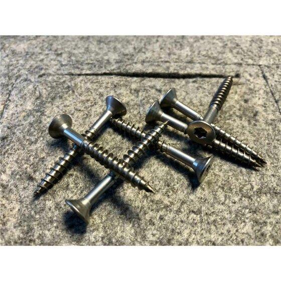 Spanplattenschraube Edelstahl A2 SK, TG, TX25 6,0x120  - 100 Stk