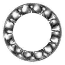Fächerscheiben Form I (J)  I 25 A 4 6798 - 200 Stk