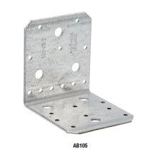Winkel ohne Rippe verzinkt 70x70x55x2,0 - 50 Stk